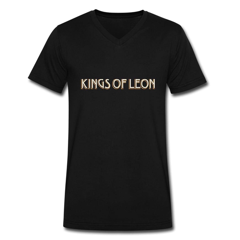 YZH hot 2016 Kiss logo tee shirt for men Black