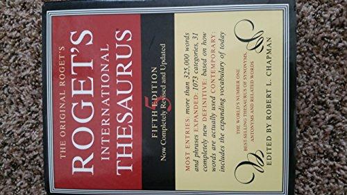 Roget's International Thesaurus. Fifth (Mystic Thesaurus)