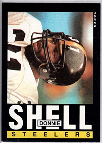 Football NFL 1985 Topps #362 Donnie Shell Steelers