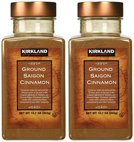Kirkland Saigon Cinnamon 107 Oz Bottles Pack of 2  214 Oz Total