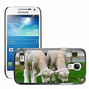 GoGoMobile Slim Protector Hard Shell Cover Case // M00117706 Sheep Lamb New Zealand Countryside // Samsung Galaxy S4 Mini i9190