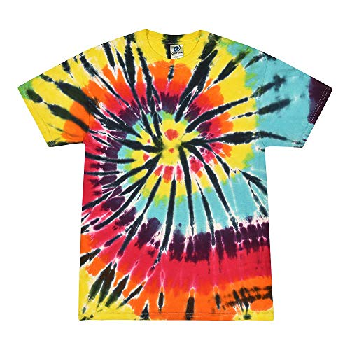 Adult Lava Lamp Costumes - Colortone Tie Dye T-Shirt Kids 6-8