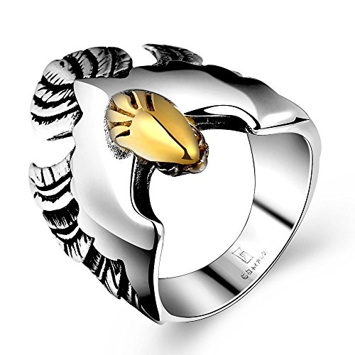 Men's Masculine Silver/Gold Two-tones Bi - Silver Tone Bird Shopping Results