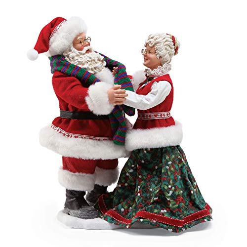 Department 56 Possible Dreams Santas Stay Warm, 11 Figurine, Multicolor