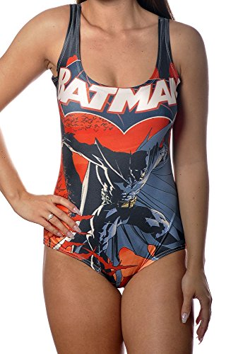 Comic Superhero One Piece Womens Swimsuit Size Medium