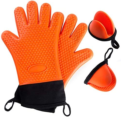 Florica Silicone Resistant Gloves Cooking