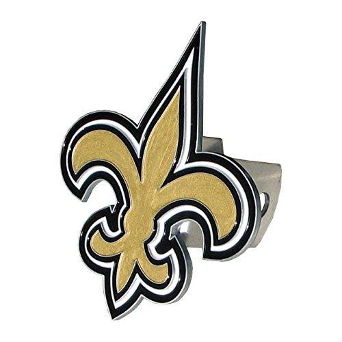 NFL New Orleans Saints Large Logo Hitch Cover, Class II & II
