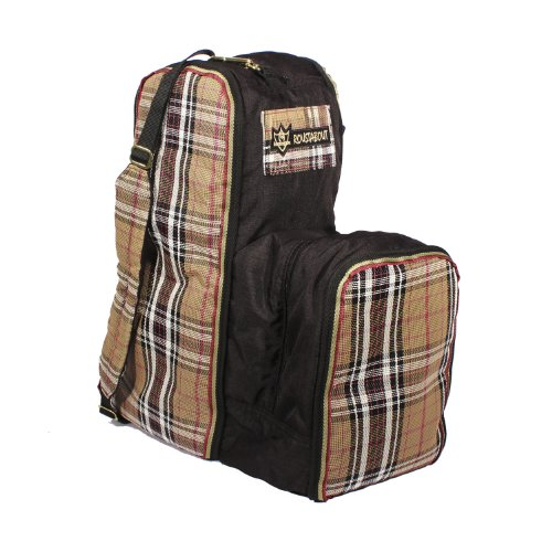 Kensington KPP English Boot Carry All Bag, Deluxe Black Plaid, One Size