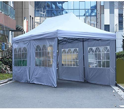 Leisurelife Outdoor Sidewalls Folding Commercial product image