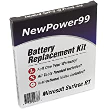 Microsoft Surface RT 1st Generation Battery Replacement Kit with Video Installation DVD, Tools, & Extended Life Battery