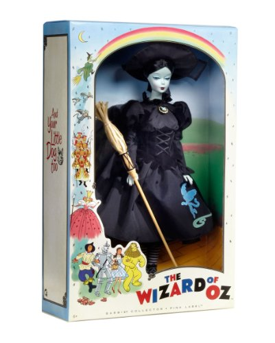 (Barbie Collector Wizard of Oz Vintage Wicked Witch Doll)