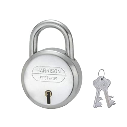 Harrison J-6/BCP-0264 Steel 6 Levers Padlock with 2 Keys