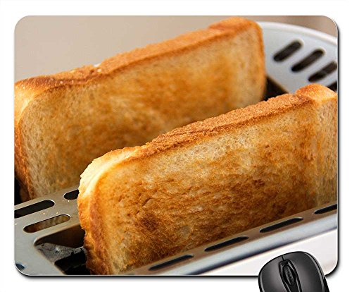 Price comparison product image Mouse Pads - Toast Toaster Food White Bread Slices of Toast Eat