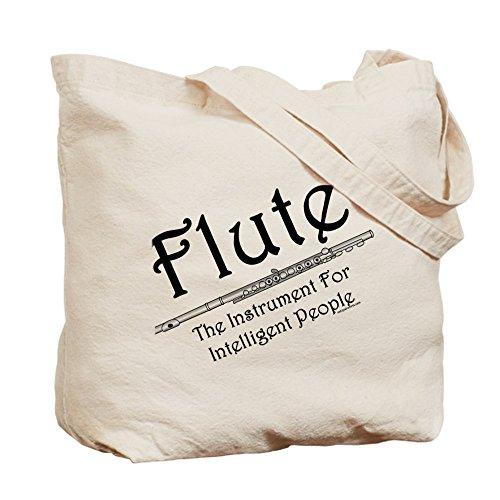 Intelligent CafePress Tote Bag Flute Shopping Natural Canvas Bag Cloth dI1xIrqw