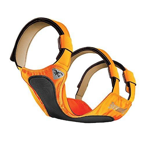 Browning Dog Protection Vest Dog Hunting Vest, Safety Orange, Medium (Browning Plates)
