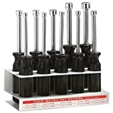 Klein 70200 Metric Nut-Driver Set with Stand-3-Inch Shanks, 10-Piece