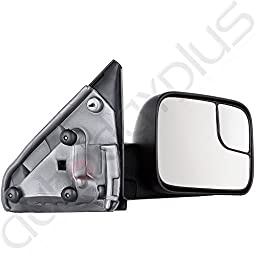 Scitoo Tow Side Mirror Pair Set For 02-08 Dodge Ram 1500 03-09 Ram 2500 3500 Full Size Pickup Truck Manual Towing Mirrors LH&RH