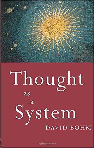 Amazon Com Thought As A System 9780415110303 David Bohm Books