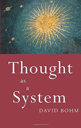 Thought as a System [David Bohm] (Tapa Blanda)