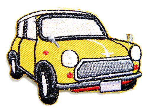 MINI COOPER Vintage Model Logo Sign Car Racing Patch Iron on Applique Embroidered T shirt Jacket Gift BY SURAPAN