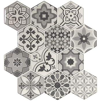 Amazon.com: Peel and Stick Backsplash Tiles for Kitchen