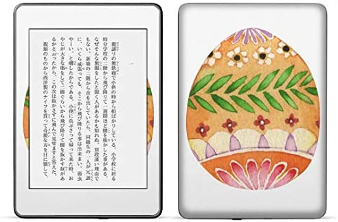 igsticker kindle paperwhite 第4世代 専用スキンシール キンドル ペーパーホワイト タブレット 電子書籍 裏表2枚セット カバー 保護 フィルム ステッカー 016457 イースター 卵