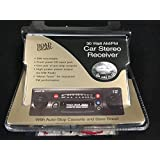 High Power AM/FM Cassette Car Stereo With Front Panel Input Jack