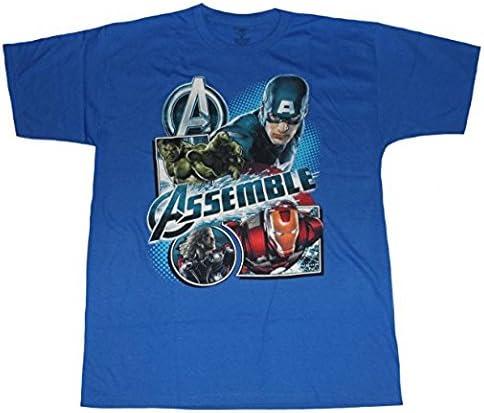 Marvel Avengers Assemble Big Boys Tee