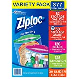 A Ziploc 4 Sizes Collection of Bags Varity (.377 Count - 5 Sizes)