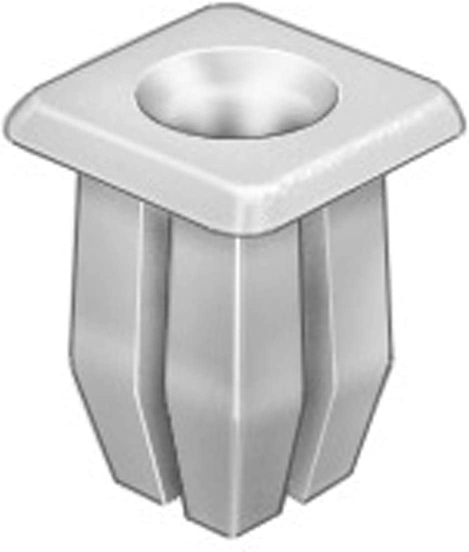 50 Headlight Bezel Nuts Fit 5//16 Hole #8 Screw Size Clipsandfasteners Inc