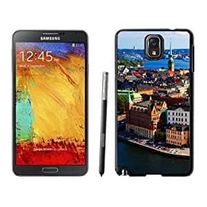 NEW Unique Custom Designed For Case HTC One M7 Cover Phone Case With Stockholm Sweden_Black Phone Case