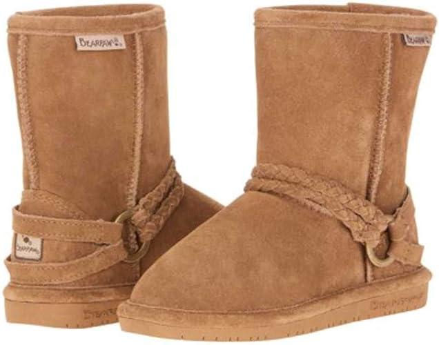Bearpaw Elle Kids/' Boots Size 1, Hickory