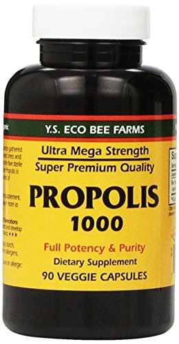 - YS Eco Bee Farms Propolis 1000 - 90 Caps (Pack of 3) by Y.S. Organic Bee Farms