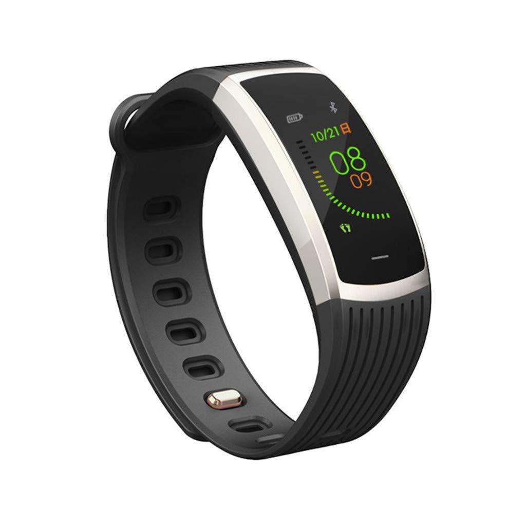 A18 Bluetooth Heart Rate Blood Pressure Monitor Sport Smart Watch Pedometer