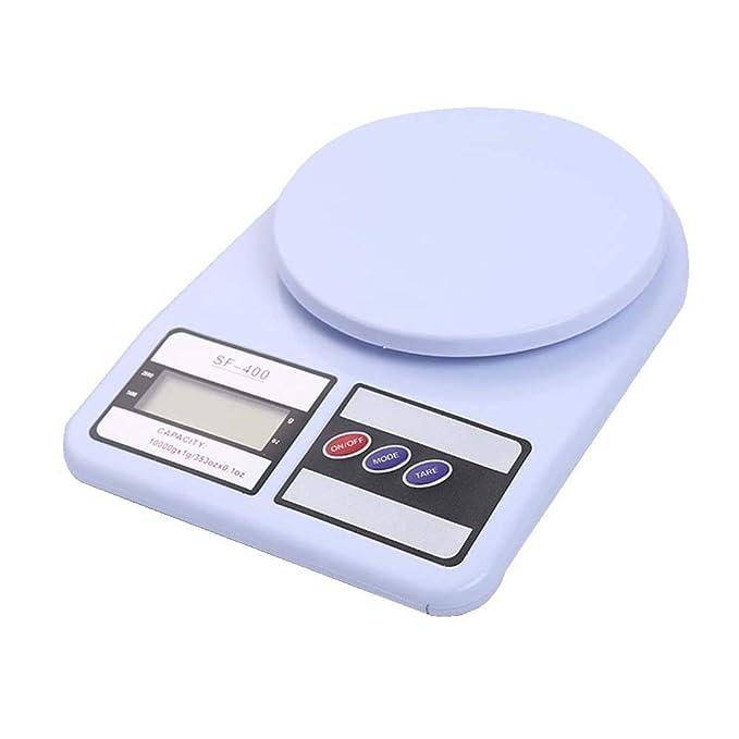 DUDDP Básculas de Cocina Balanza electrónica de 5 kg de Peso para Hornear Pesa báscula electrónica de Cocina, Escalas de joyería, características de Tara y ...