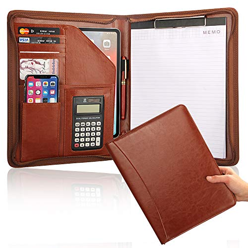 Business Portfolio Organizer Calculator Clipboard
