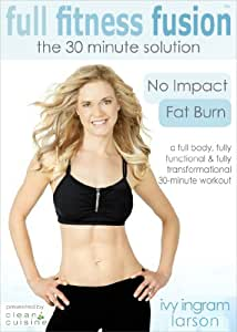 Clean Cuisine's Full Fitness Fusion Exercise DVD