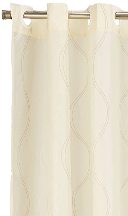 Amazon Carnation Home Fashions EZ On No Hooks Needed 108 By 75
