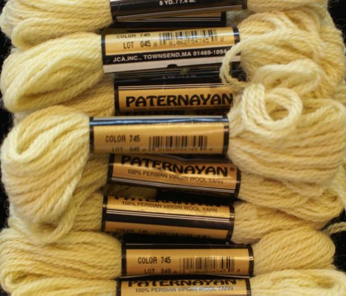 Paternayan Needlepoint 3 Ply Wool Yarn Color 745 Tobacco Light