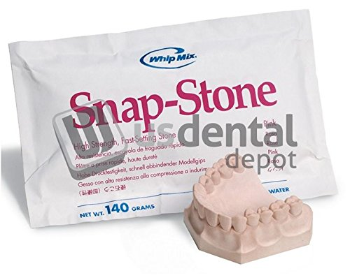 Whip-Mix 33219 Snap-Stone Type IV 50lb Pink
