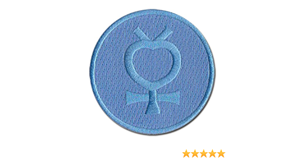 OYSTERBOY Sailor Moon Guardian Characters Sailor Mercury Blue Ami Mizuno Icon Cosplay Logo Iron-on Patch