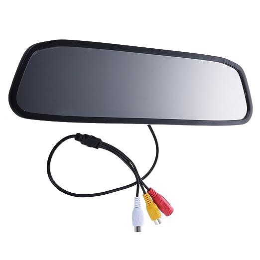 """3 opinioni per TOOGOO (R) Car Rear View 4.3 """"a colori TFT LCD a specchio monitor F Inversione"""