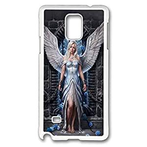 Imprisoned Angel Polycarbonate Hard Case Cover for samsung note 4 White