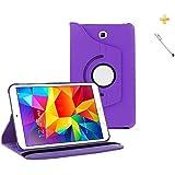 Capa Case Galaxy Tab S2-9.7´ T810/T815 Giratória 360/Caneta Touch (Roxo)
