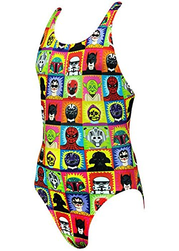 Maru Swimming Costume (Maru Super Hero Pacer Rave Back Swimming Costume (Size 28
