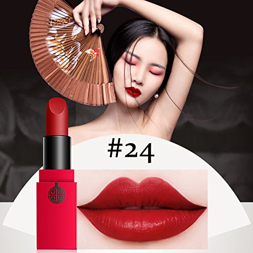 12 Colors Matte Lipstick Set, MEIKING matte ipstick Natural Waterproof Nude Sexy Lip Gloss Cosmetics Kit