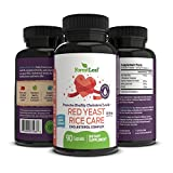 Red Yeast Rice Care with COQ-10 and Organic Flaxseed – Supports Cardiovascular Health – 1215mg – 90 Vegetable Capsules – Daily Dietary Supplements by Forestleaf For Sale