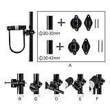 Bike U Lock with Cable - Via Velo Heavy Duty