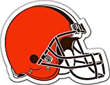 NFL Cleveland Browns Vinyl Magnet, One Size, Orange