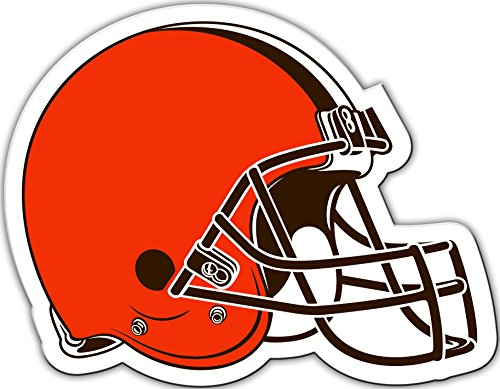 NFL Cleveland Browns Vinyl Magnet, One Size, Orange by Fremont Die